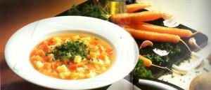 Морковно-картофельный густой суп