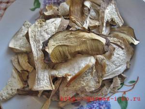 Постные щи с грибами