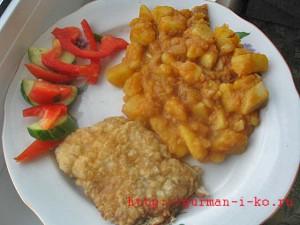 Гуляш из картофеля по - австрийски