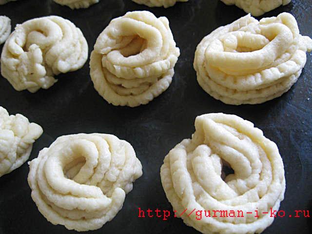 Готовим дома песочное печенье