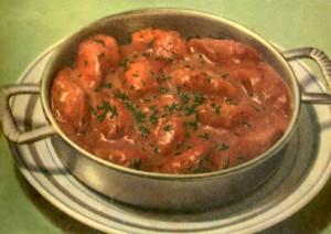 Сосиски в пикантном соусе