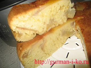 Пирог в мультиварке. Рецепт