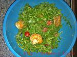 Быстрые и вкусные салаты из морепродуктов