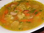 весенний суп  и рагу