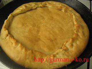 Итальянский пирог из Тосканы