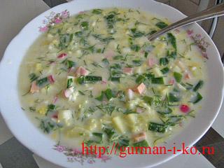 Холодные супы в летнюю жару