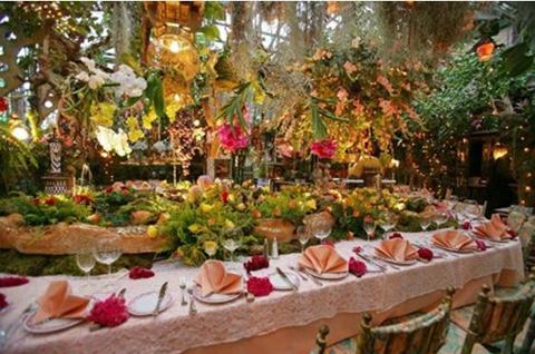 Цветочный ресторан