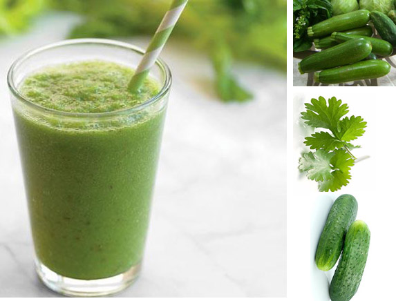 Худеем вкусно вместе с овощным смузи