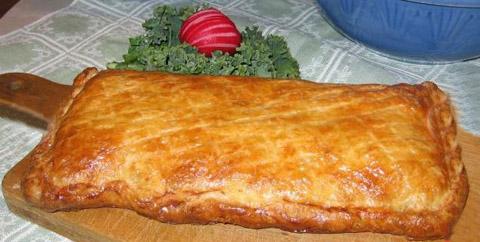 Кулебяка - закрытый пирог